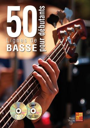 apprenez à jouer 50 lignes de basse pour débutants, solfège et tablature