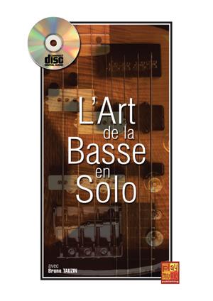méthode pour apprendre des pièces pour basse solo, solfège et tablature, accords et mélodie