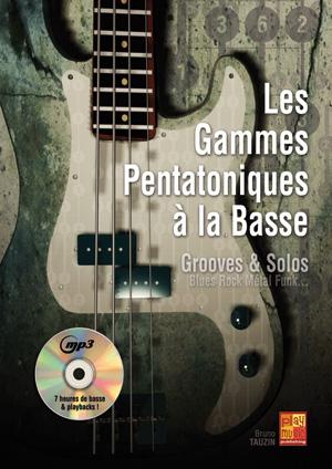 Méthode pour apprendre à jouer les gammes pentatoniques à la basse