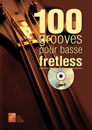 100 Grooves pour basse fretless, solfège et tablature