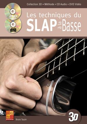 Les Techniques du Slap à la Basse, méthode, tablature, cours, exercices