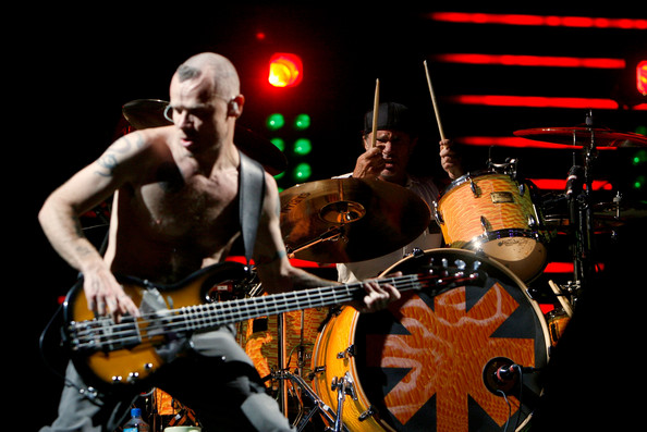 Flea & Chad Smith, duo basse batterie, red hot chili peppers, funk