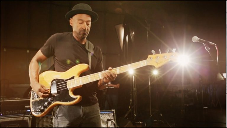 marcus miller, dunlop sessions, concert, live, fender jazz bass, slap