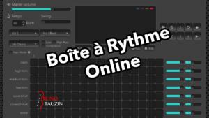 Boîte à rythme, métronome, gratuit, online, batterie