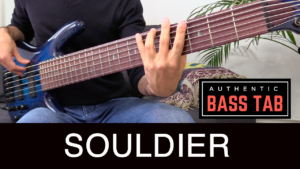 jain, souldier, bass tab, groove, tablature, ibanez basse