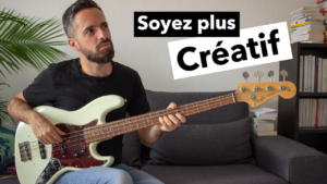 cours de basse, creativite, tablature, groove, improvisation
