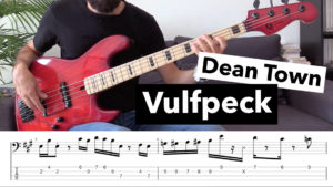 cours de basse, vulfpeck, joe dart, musicman, tablature