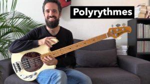 cours de basse, polyrythme, tablature, rythme, technique, exercice