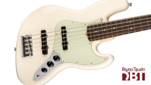 test basse 5 cordes fender jazz bass american professional V
