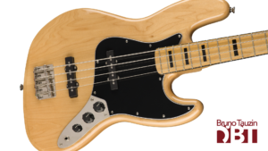 Test Basse Squier Jazz Bass 70 Vintage Modified