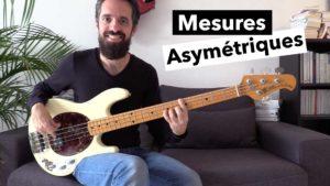 cours de basse, rock progressif, mesures impaires, mesures asymétriques, tablature