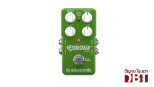 test pedale chorus basse tc electronic corona