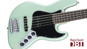 test fender jazz bass basse 5 cordes deluxe V