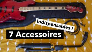 les 7 accessoires indispensables du bassistes