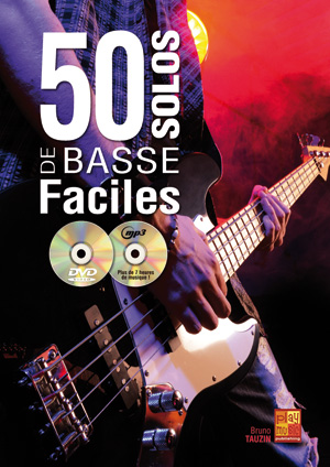 Méthode de basse 50 solos faciles avec CD