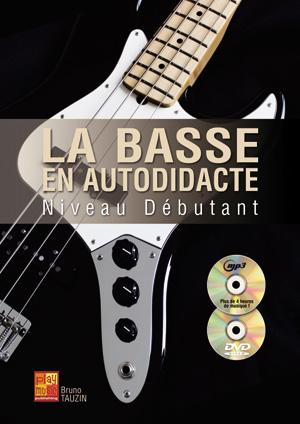 Méthode de basse pour débutant autodidacte avec CD et DVD