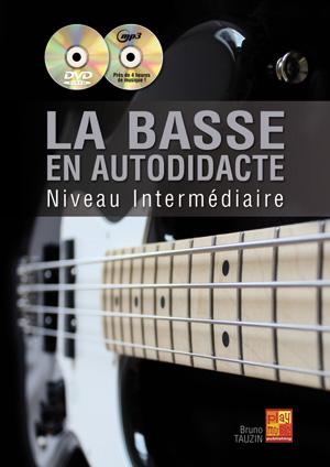 Méthode de basse pour niveau intermédiaire autodidacte avec CD et DVD
