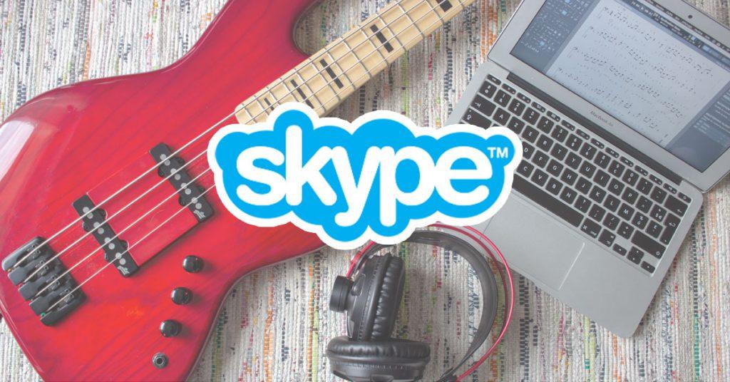 Cours de basse personnalisés sur Skype avec Bruno Tauzin