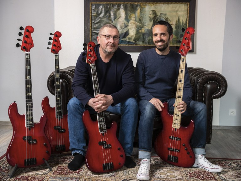 Basse signature precision jazz bass Bruno Tauzin Maruszczyk