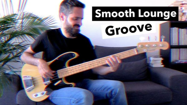 smooth bass lounge bass groove, tablature, fender precision 51 custom shop