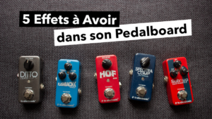 pedalboard basse, tc electronic, effets, compresseur, reverb, delay, octaveur, looper