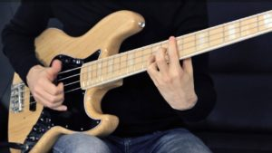 Funky Slap Bass Solo, Fender Jazz Bass, Tablature