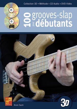 méthode de basse, 100 Grooves en slap pour débutants, tablature
