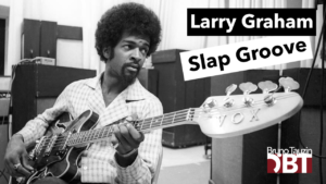 cours de basse, slap, larry graham, hair, tablature