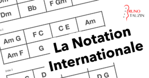 cours de basse débutant, notation internationale