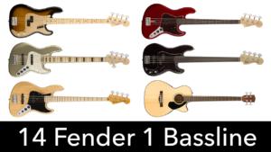 basse fender, fretless, american vintage, roger waters, acoustique, american original, jaco pastorius, fretless, elite