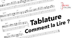 comment lire une tablature a la basse, cours debutant