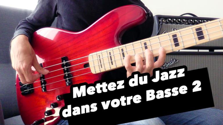 cours de basse, jazz, improvisation, tablature