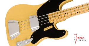 fender precision 51 custom shop, basse, test, demo