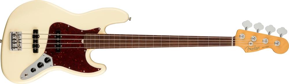 Fender American Professional II Jazz Bass, basse fretless
