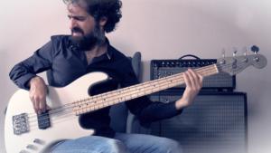 fender jazz bass active signature flea, test, demo, groove, slap, basse