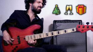 All I Want For Christmas Is You, arrangement pour deux basses, maruszczyk, fender