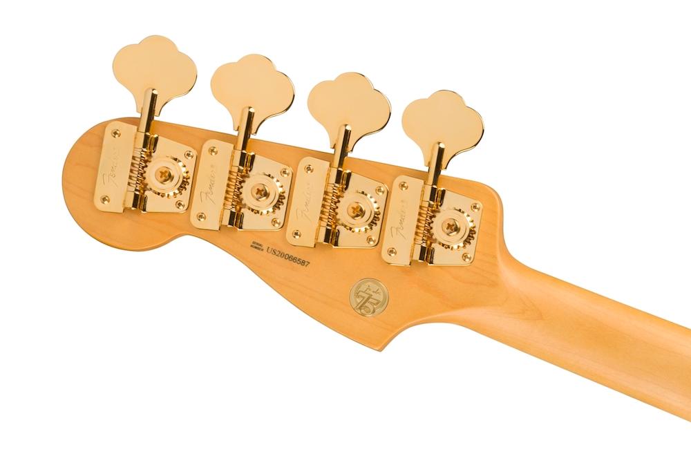 fender precision bass, basse, bassiste, cours de basse, 75th anniversary commemorative