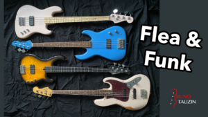 4 Basses Signatures de Flea, Fender Jazz Bass, Active, Modulus, FleaBass