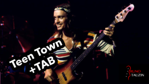 jaco pastorius, teen town, basse, bassiste, tablature, fender jazz bass