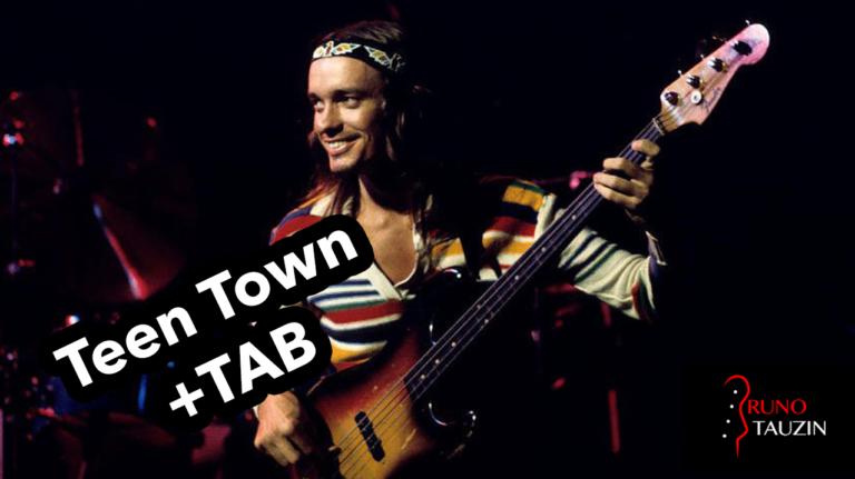 jaco pastorius, teen town, basse, bassiste, tablature, fender jazz bass