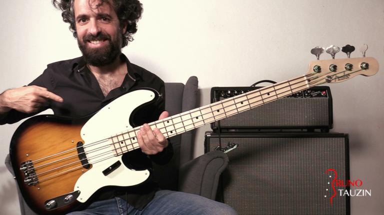 fender precision 55 Custom Shop, basse, bassiste, test, demo, slap, groove, blues, accords, mediator
