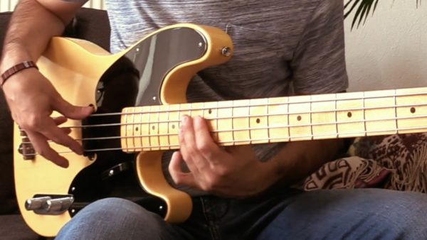 basse, bassiste, groove, funk, tablature, fender precision custom shop