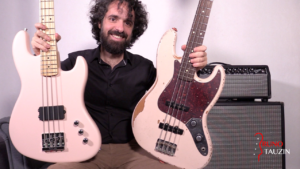 fender jazz bass flea road worn, fender jazz bass flea active, accords, bassiste, groove, slap, mediator, cours