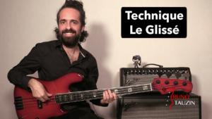 cours basse, débutant, facile, tuto, bassiste, technique, exercice, glissé, slide