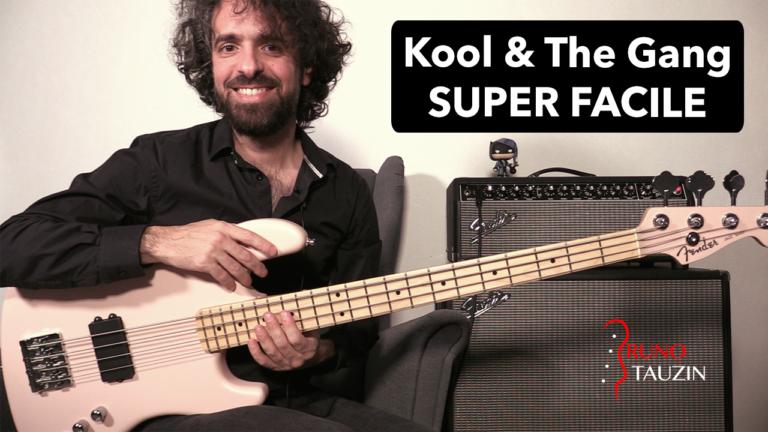 cours de basse, débutant, funk, disco, tablature, groove, tuto, Kool and the gang