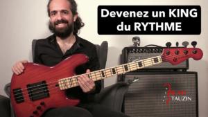rythme, cours de basse, bassiste, débutant, rythmique, tablature, solfège, groove