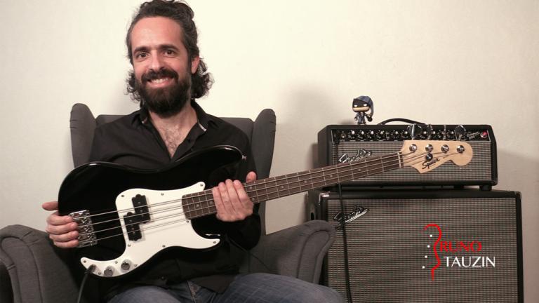 Squier mini precision bass, enfant, bassiste, tablature, groove, demo, test