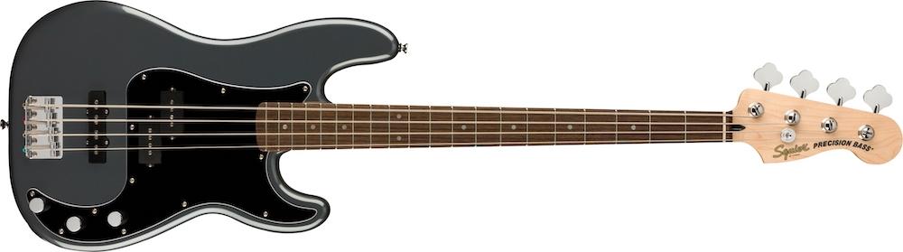 Squier, debutant, basse, bassiste, jazz bass, precision bass, jaguar bass, fender