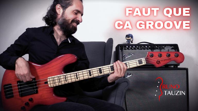 groove, funk, cours, basse, bassiste, débutant, tablature