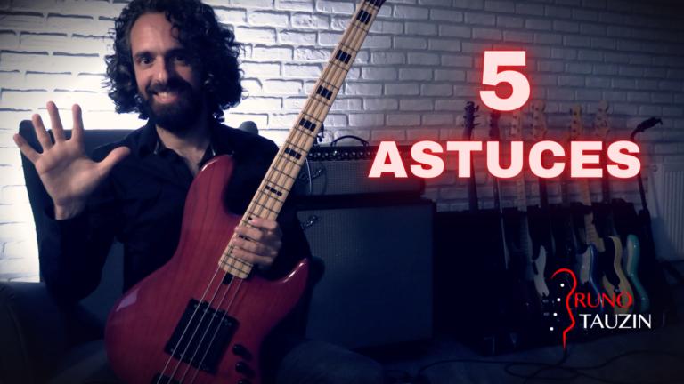 cours, basse, bassiste, guitare basse, astuces, conseils, débutants, tuto